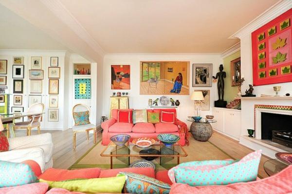 Wohnen Farbgestaltung farbgestaltung im wohnzimmer farbideen und wohntrends 2015
