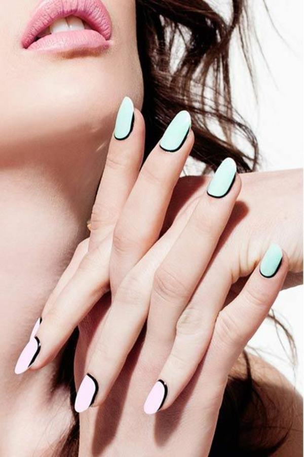 Fingernägel Design bilder effektvoll