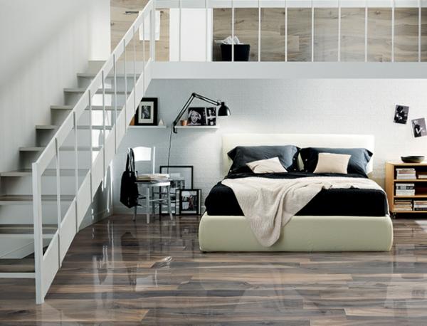 Wohnzimmer Holz Oder Fliesen Feinsteinzeug Aus Italien Von La Fabbrica