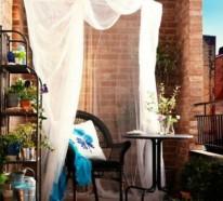 Frühlingsdeko basteln – den kleinen Balkon frisch gestalten