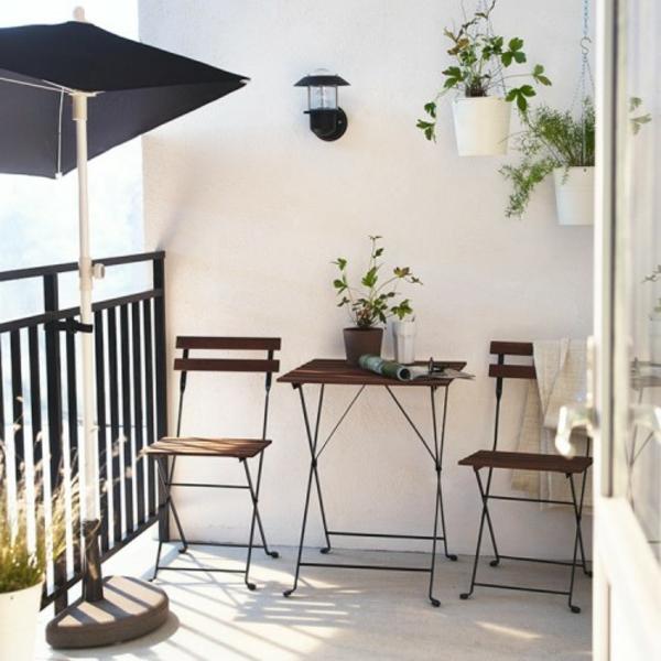 Frühlingsdeko Basteln Kleiner Balkon Gestalten Simpel