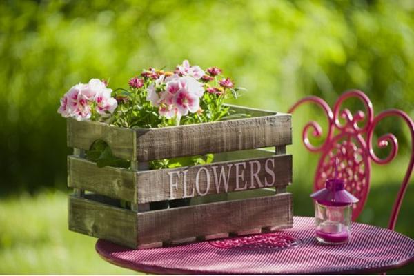 Frühlingsdeko Basteln Schöne Gartenideen Zum Selbermachen Korb