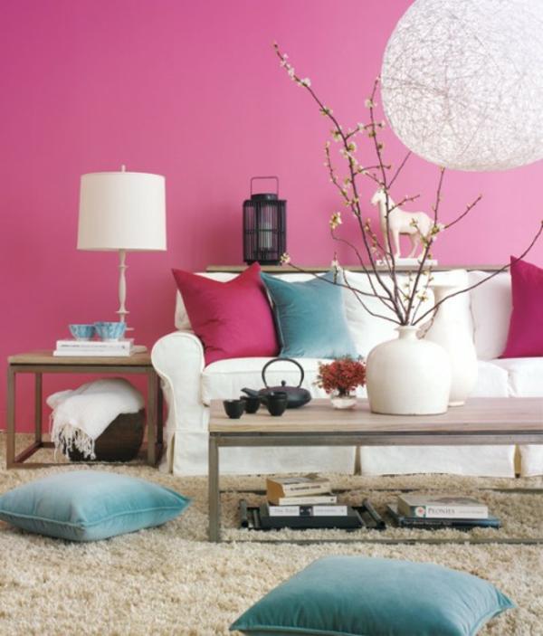Frühlingsdeko basteln schöne Gartenideen zum Selbermachen wohnzimmer