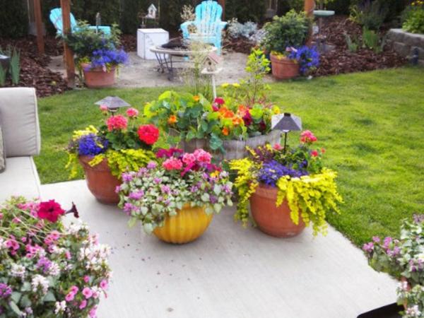 Kleiner Garten Ideen gartenideen blumen