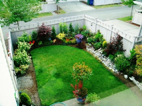 GroB Kleiner Garten Ideen Gartenideen Gartengestaltungsideen Geschlossen