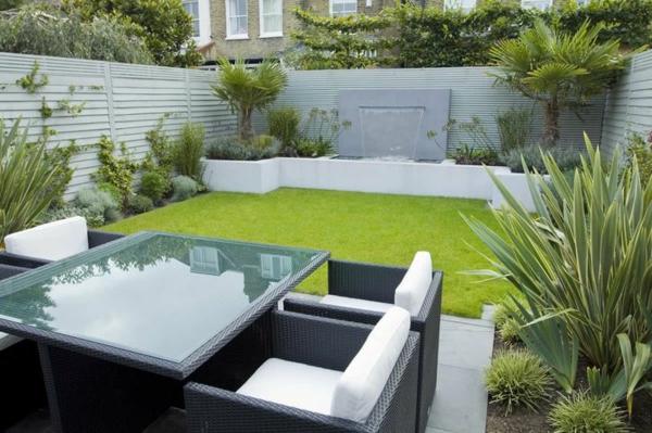 Kleiner Garten Ideen Gartenideen Gartengestaltungsideen Glas Tischplatte