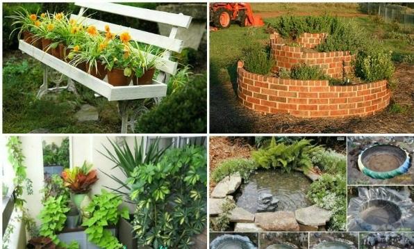kleiner garten ideen - gestalten sie diesen mit viel kreativität!, Gartenarbeit ideen