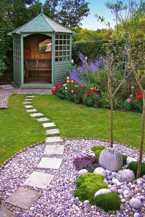 Kleiner Garten Ideen gartenideen platten