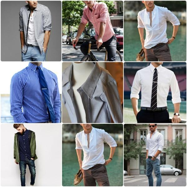 Männerhemd Herrenhemde krawatte elegante herrenmode