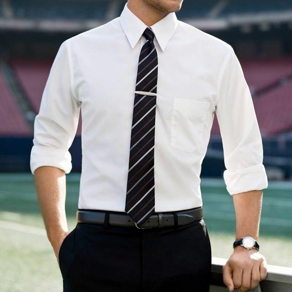 Männerhemd Herrenhemde weiß krawatte elegante herrenmode