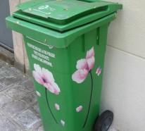 Mülltonnenbox im Garten – so machen Sie die Abfalltonnen unsichtbar
