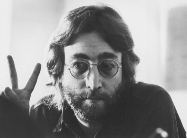 Mode 70er Männer herrenmode john lennon peace