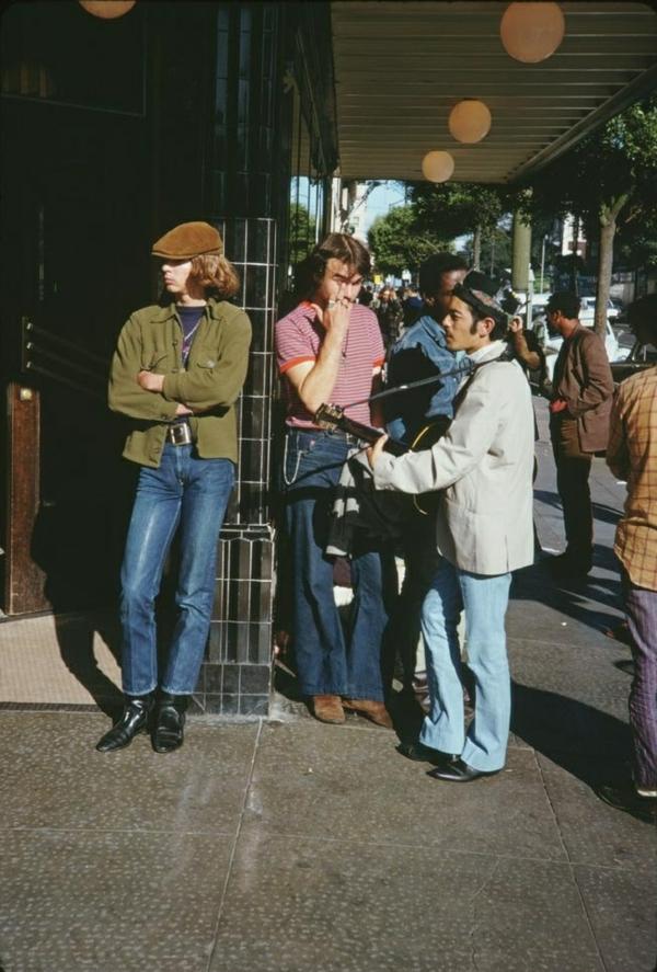 Mode 70er Männer herrenmode männer anzüge straßenmode