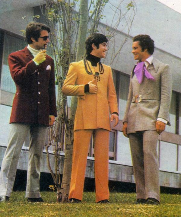 Mode 70er Männer herrenmode männer anzüge