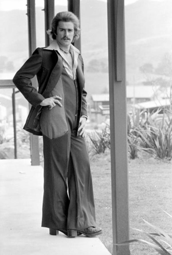 Mode 70er Männer herrenmode sakko