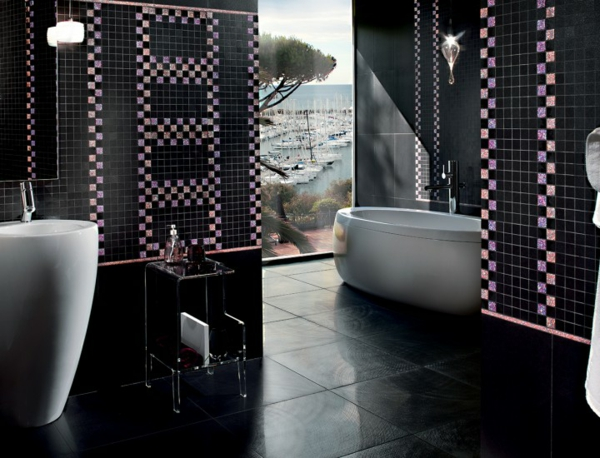 Montenapoleone Grafite kollektion produktlinie muster mosaik