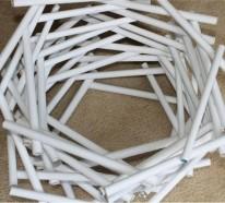 Papier Lampenschirm basteln – DIY Lampen für mehr visuelles Interesse