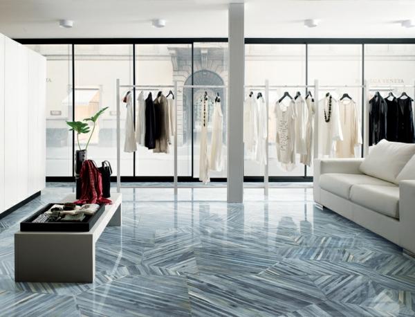 bekleidungsladen ideen glas fenster sofa