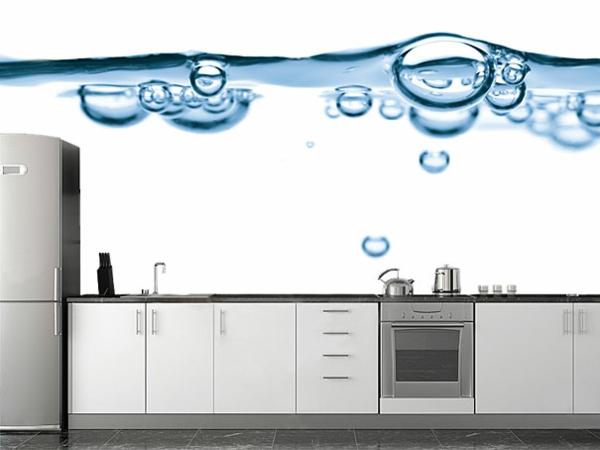 Wandaufkleber küchenrückwand Wanddekoration wasser tropfen