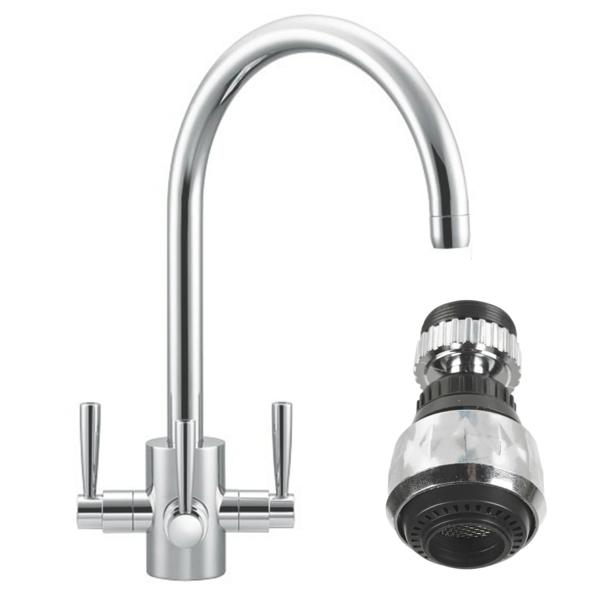 Wasser sparen Tipps nachhaltiges leben wasser spray armatur