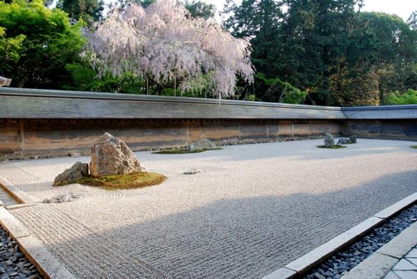 Zen Garten Anlegen japanische gärten baum