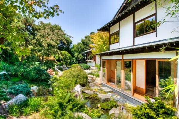 Zen Garten Anlegen japanische gärten haus