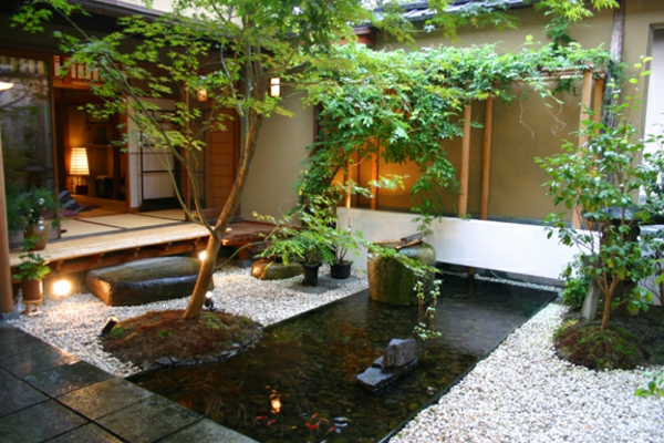 Zen Garten Anlegen japanische gärten kiesel