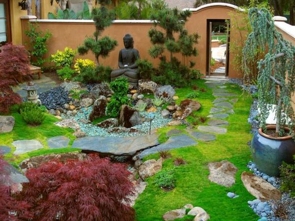 Zen Garten Anlegen japanische gärten modern