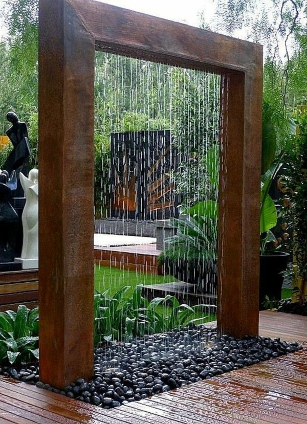 Zen Garten Anlegen japanische-gärten regen