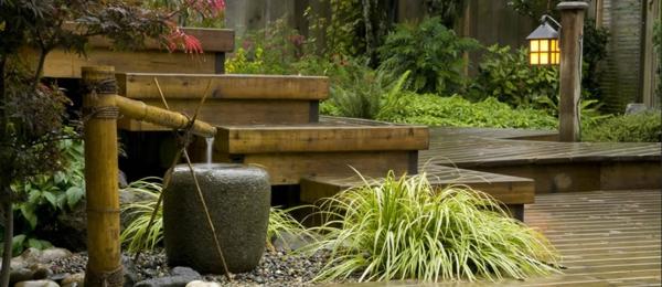 Zen Garten Anlegen-japanische gärten treppe