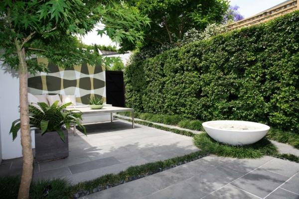 Zen Garten Anlegen japanische gärten wand