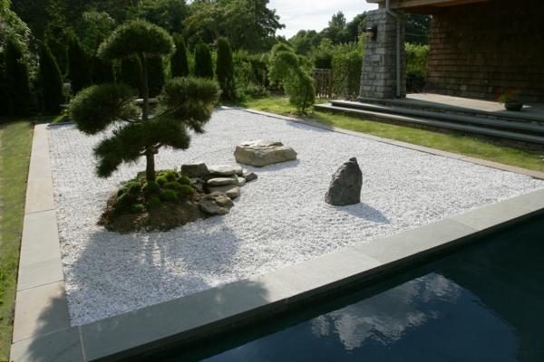 Zen Garten аnlegen japanische gärten wasser
