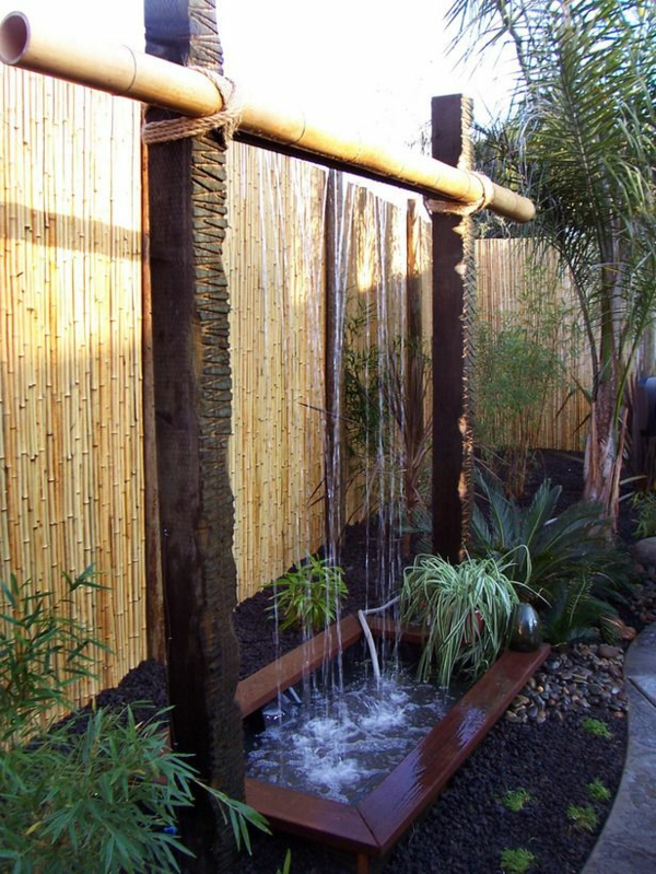Zen Garten Anlegen japanische pflanzen bambus