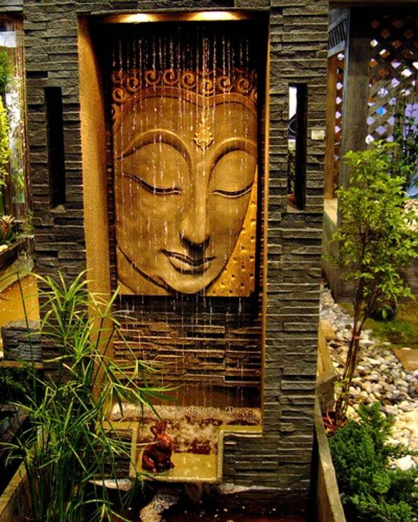 Zen Garten Anlegen japanische pflanzen buddha
