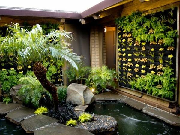 Zen Garten japanische pflanzen ideen