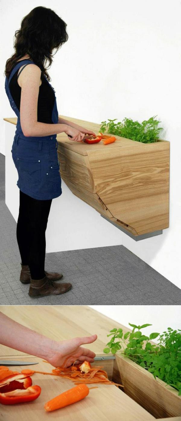 arbeitsplatte küche bequem hoztextur küche einrichten