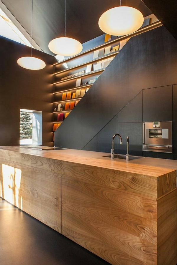 25 Arbeitsplatten für Küchen, die Sie mit ihrem Design ...