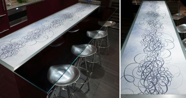 25 arbeitsplatten für küchen sie mit ihrem design faszinieren