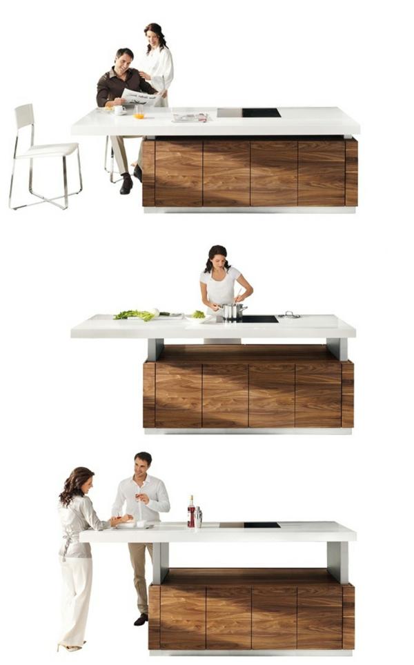 arbeitsplatten für küchen schöne kücheninsel küche einrichten