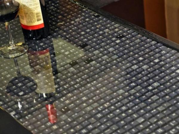 arbeitsplatten für küchen schöne textur küche gestalten