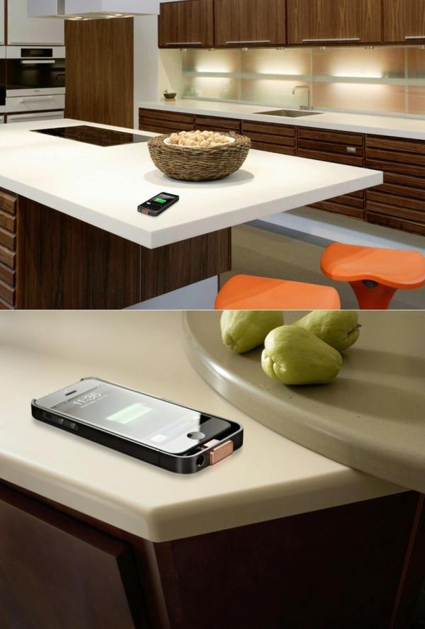 arbeitsplatten für küchen weiß stilvoll küche einrichten