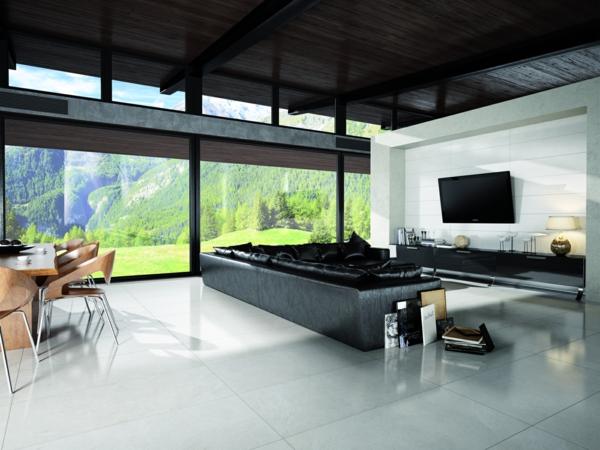 archistone limestone bianco wohnzimmer