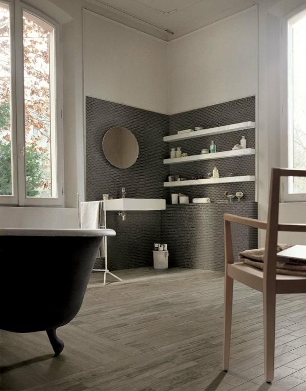 badezimmer selection oak wandfleisen badewanne freistehend