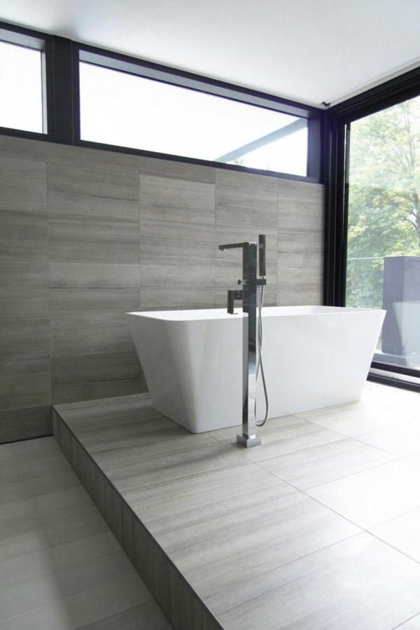badezimmerarmatur badeinrichtung freistehende badewanne bodenständige armatur