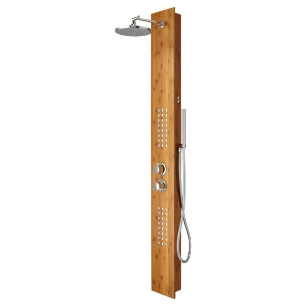 Duschpaneele sorgen f r eine moderne badezimmergestaltung for Badezimmereinrichtung holz