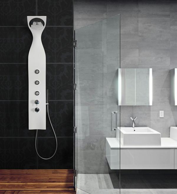 badmöbel set duschpaneele modern badeinrichtung