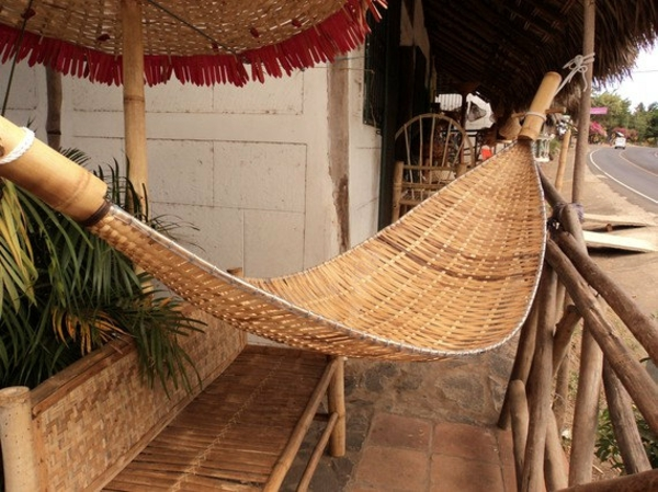 bambus deko hammock
