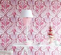 Barock Tapete -Stil aus alten Zeiten in zeitgenössischer Form