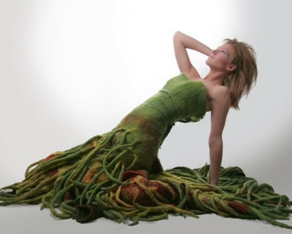 filz bastelvorlagen karnaval kostüm damen