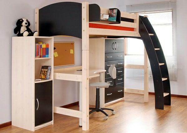 Schreibtisch Bett